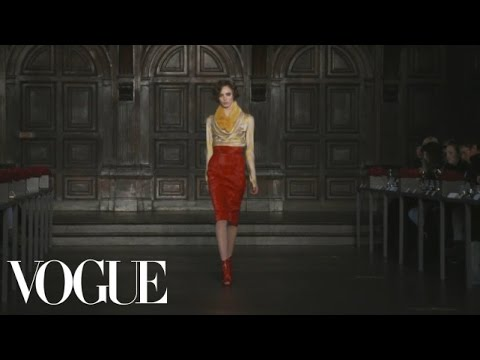 L'Wren Scott Ready to Wear Fall 2012 Vogue Fashion Week Runway Show