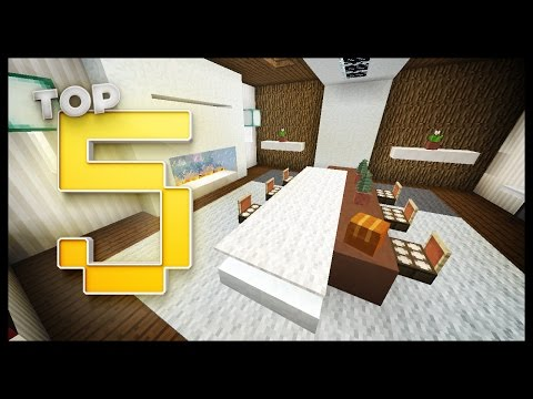 Naver for Minecraft dining room designs