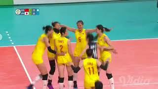 Volley Ball Womens Semifinal China (Won) Vs Japan