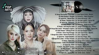 Agnes MO, Melly Goeslaw, BCL, Rossa Top Hits Lagu Indonesia @pergijauh92