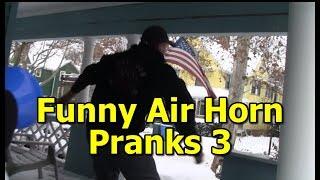 Funny Pranks Air Horn Prank 3