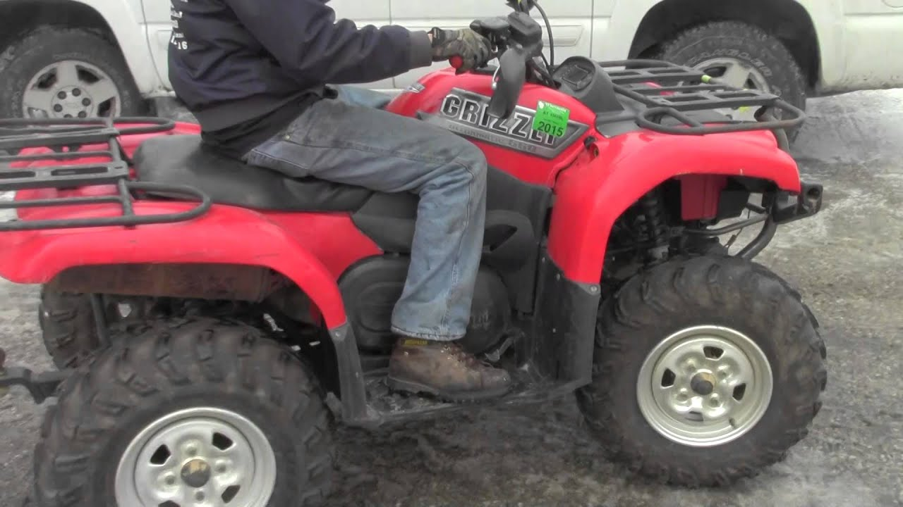 2003 Yamaha Grizzly 660 Atv Going To Parts