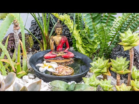 Comment faire un petit jardin zen youtube for Creation petit jardin