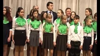 Визит Д П  Москвина в Арз район