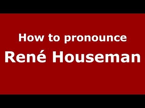 How to pronounce René Houseman SpanishArgentina  PronounceNames.com