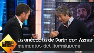 La anécdota más divertida de Ricardo Darín con José María Aznar en La Moncloa  - El Hormiguero 3.0