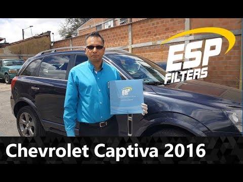 Chevrolet captiva sport 2016 cambio filtro de aire for Filtro cabina camaro 2016
