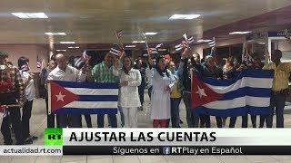 Llega a Cuba procedente de Bolivia el segundo contingente de la brigada médica cubana