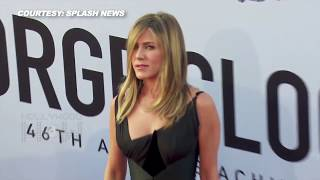 Jennifer Aniston After Justin Theroux BREAKUP Looks Hot At AFI Awards | AFI Life Achievement Award
