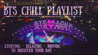 2020 BTS chill playlist [relaxing/studying] 3hr+