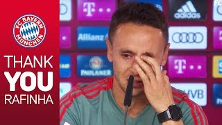 quot;That39;s the hardest thingquot;  Rafinha39;s Emotional Goodbye at FC Bayern