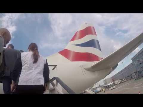 BA Cityflyer flight from London City to Frankfurt