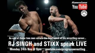 RJ SINGH and STIXX - LIVE on YouTube, 9pm, Monday night Thumbnail