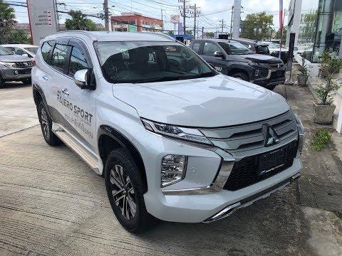New midlesize SUV Pajero Sport 2019, 2020