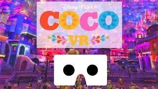 Disney Pixar COCO VR Box video SBS Side By Side Google Cardboard not 360