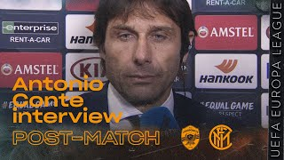 "LUDOGORETS 0-2 INTER | ANTONIO CONTE INTERVIEW: ""We raised the intensity after the break"" [SUB ENG]"