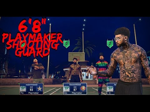 NBA 2K17 | The BEST Playmaker:Point Forward Build | 6