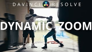 Zoom In POST With Dynamic Zoom | Davinci Resolve 16 Tutorial