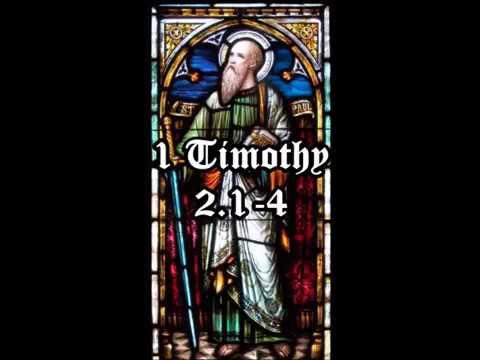Memorial Day Scripture: 1 Timothy 2:1-4