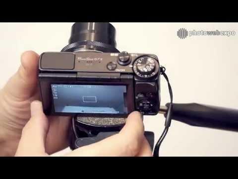 Canon G7X. Видео тест