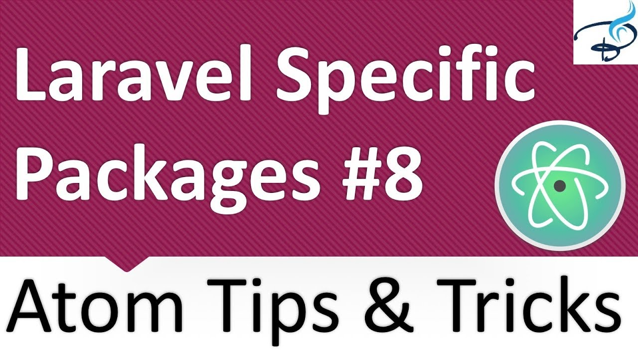 Atom Text Editor - Laravel Specific Packages #8