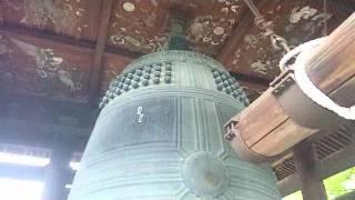 うらみの鐘 ところ 東山区大和大路正面 方広寺は、秀吉が奈良東大寺の大...
