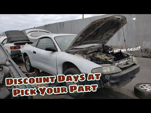 California Junk Yard 40% Off Days