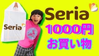 まさかのシンクロ!!まーちゃんのセリア1000円お買い物♪100円ショップhimawari-CH
