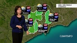 Previsão Grande SP – Frente fria vira o tempo
