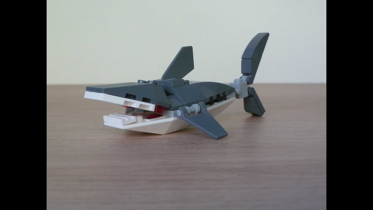 Shark Lego Build