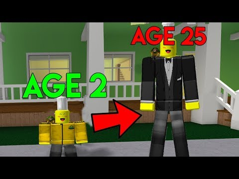 ROBLOX GROWING UP SIMULATOR 2 * MAX AGE!*