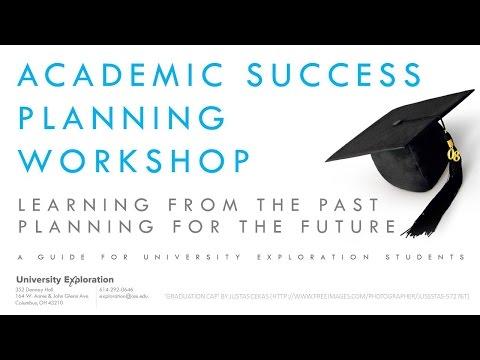 Academic Success Planning Workshop Introduction