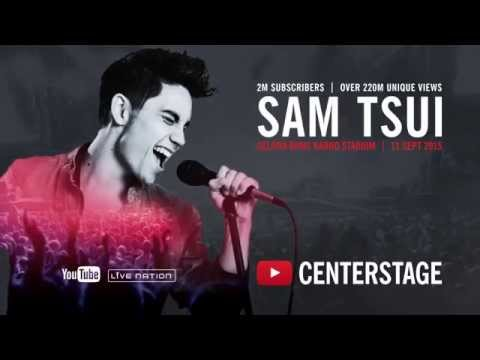 'Clumsy' - Sam Tsui - Live at YouTube CenterStage - 11 Sep 2015 in Jakarta