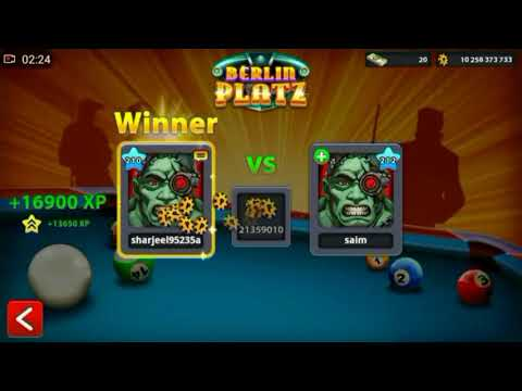 8 Ball Pool Trickshots | Indirect and Direct shots | BERLIN | R.I.P Berlin | Video by SHAN 8BP