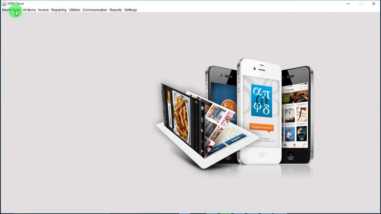 Mobile Store Management System (Java based)