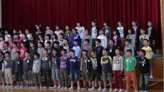 Yokogawa singing hana wa saku.