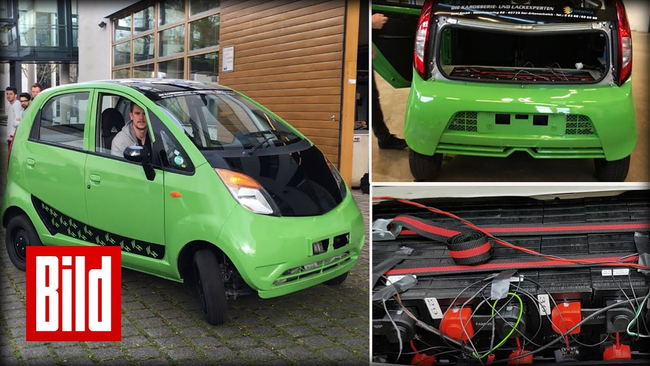 e auto f r schlappe 5000 euro elektroauto tata nano by bild. Black Bedroom Furniture Sets. Home Design Ideas