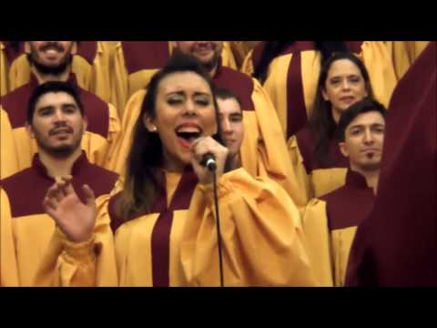 God is trying to tell you something - Argentina Gospel Choir @ Legislatura Porteña