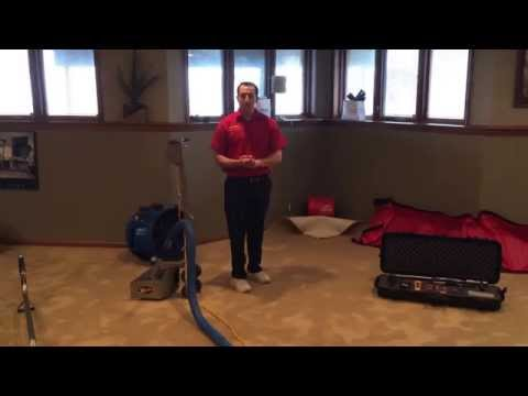 Water Damage Equipment & Methods Used To Dry A Water Damaged Basement