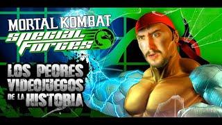 Los PEORES videojuegos de la historia: Mortal Kombat SF