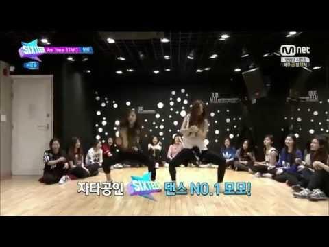 [CUT] Mina dances with Momo - SIXTEEN Ep. 1