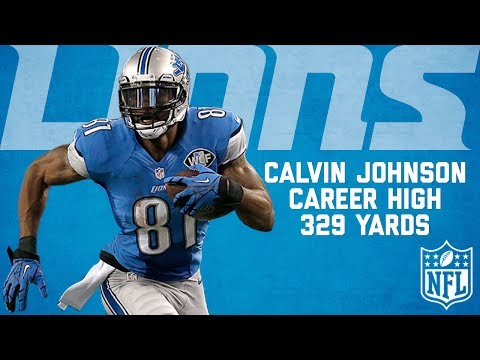 Calvin Johnson Highlights from Career-High 329-Yard Game | Cowboys vs. Lions (2013) | NFL Highlights