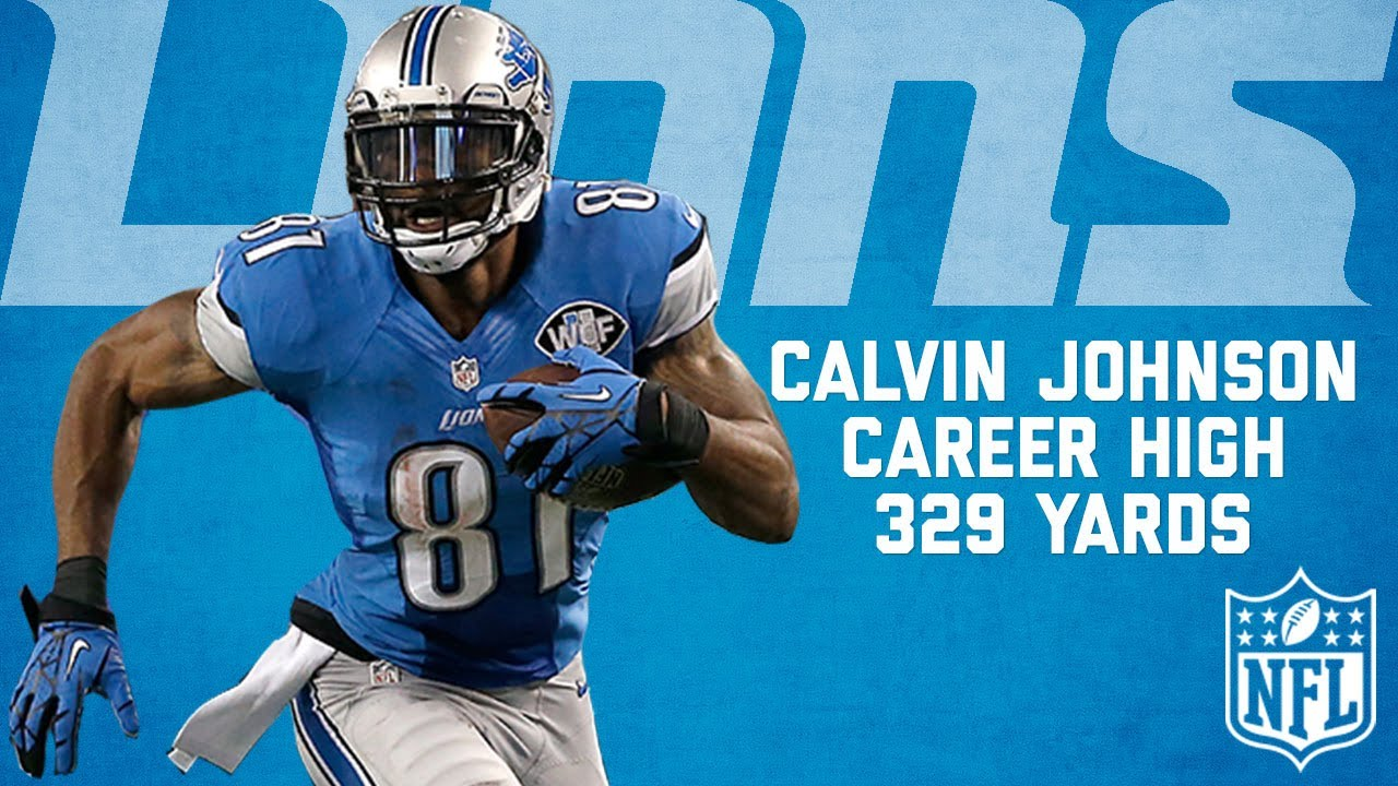 save off a32af 2d2aa Calvin Johnson Highlights from Career-High 329-Yard Game vs. the Cowboys |  NFL Highlights