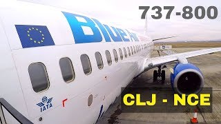 FLIGHT REPORT / BLUE AIR BOEING 737-800 / CLUJ NAPOCA - NICE