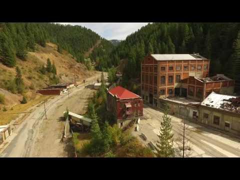 Star Mine Ruins (Hecla) At Burke, An Idaho Ghost Town - Near Wallace, Idaho