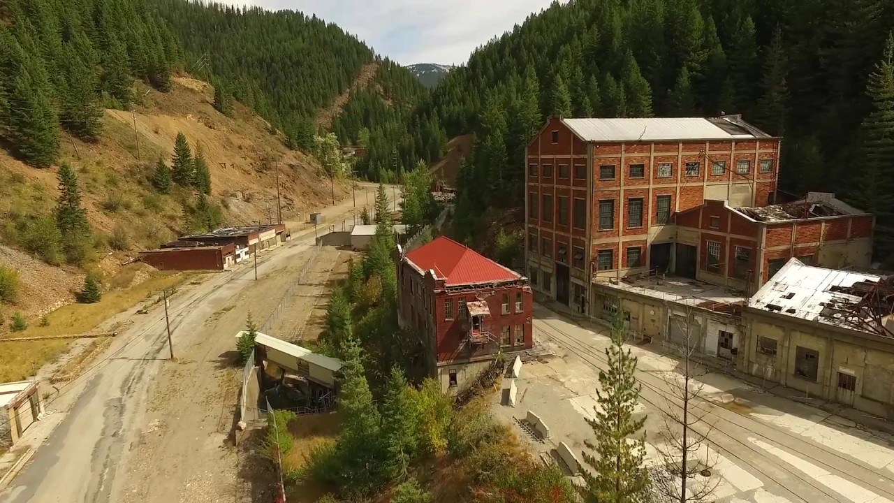 Star mine ruins hecla at burke an idaho ghost town for Burke and wallace silversmiths