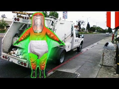 Radioactive diapers scare Austrian garbage men
