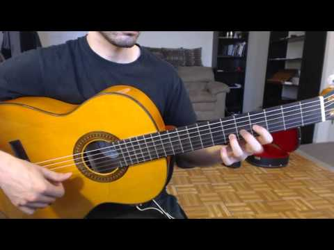 Comparing three flamenco guitars (take 2)