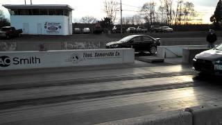 2011 Mitsubishi Lancer Ralliart 1/4 Mile vs. Evo