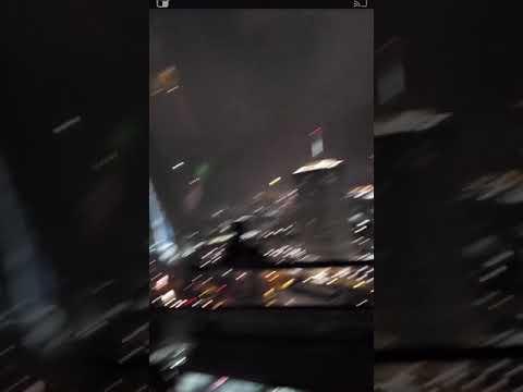 Man Stuck in Crane Recorded Destructive Tornado Carving a Path Across Nashville